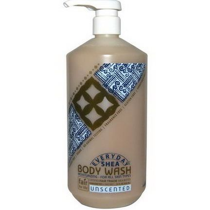 Everyday Shea, Body Wash, Unscented 950ml