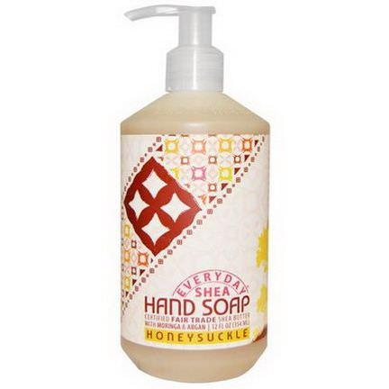 Everyday Shea, Hand Soap, Honeysuckle 354ml