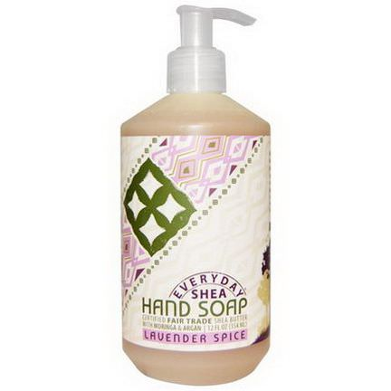 Everyday Shea, Hand Soap, Lavender Spice 354ml