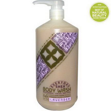 Everyday Shea, Moisturizing Body Wash, Lavender 950ml