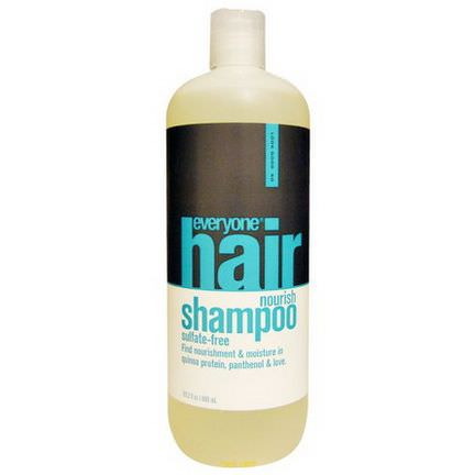 Everyone, Hair Nourish Shampoo, Sulfate Free 600ml