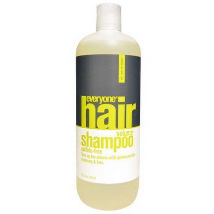 Everyone, Hair Volume Shampoo, Sulfate Free 600ml