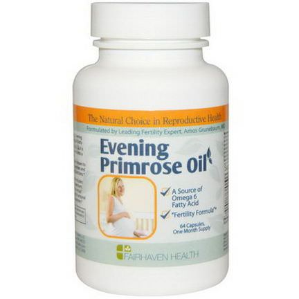Fairhaven Health, Evening Primrose Oil, 64 Veggie Caps
