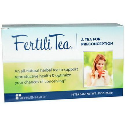 Fairhaven Health, FertiliTea for Women, 16 Tea Bags 24.8g