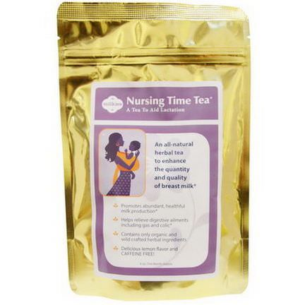 Fairhaven Health, Nursing Time Tea, Delicious Lemon Flavor, Caffeine Free, 4 oz