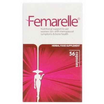 Femarelle, A Natural Serm for Menopause Bone Health, 56 Capsules