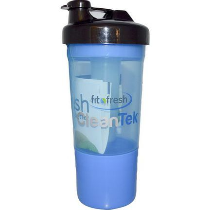 Fit&Fresh, CleanTek, Shaker Cup with Ice Wand Agitator&Storage Cup, 1 Cup