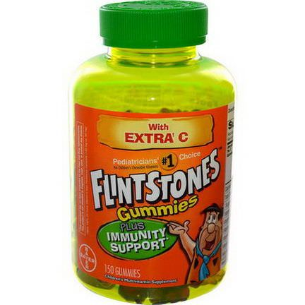 Flintstones, Gummies, Children's Multivitamin Supplement, 150 Gummies