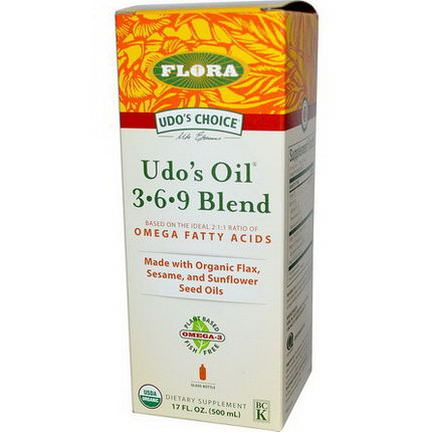 Flora, Udo's Choice, Udo's Oil 3 6 9 Blend 500ml