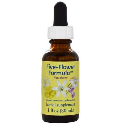 Flower Essence Services, Five-Flower Formula, Flower Essence Combination, Non-Alcohol 30ml
