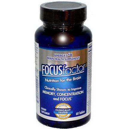 Focus Factor, Nutrition For The Brain 60 Tablets