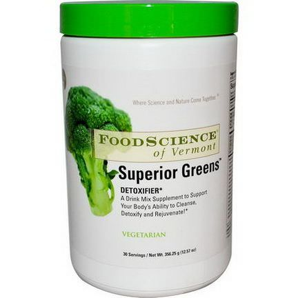 FoodScience, Superior Greens 356.25g