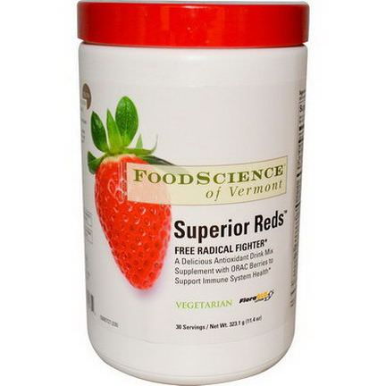 FoodScience, Superior Reds 323.1g