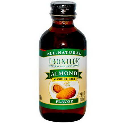 Frontier Natural Products, Almond Flavor, Alcohol-Free 59ml