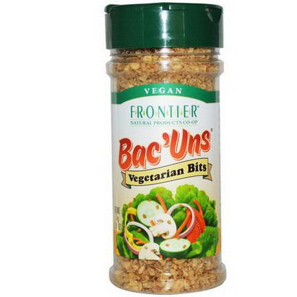Frontier Natural Products, Bac'Uns, Vegetarian Bits 70g