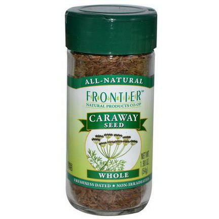 Frontier Natural Products, Caraway Seed, Whole 54g