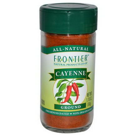Frontier Natural Products, Cayenne, Ground 50g