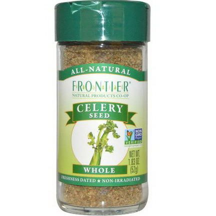 Frontier Natural Products, Celery Seed, Whole 52g
