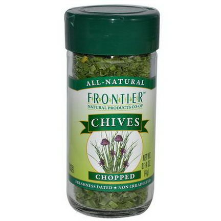 Frontier Natural Products, Chives, Chopped 4g