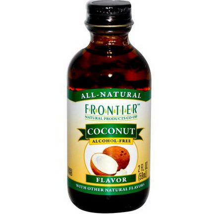 Frontier Natural Products, Coconut Flavor, Alcohol-Free 59ml