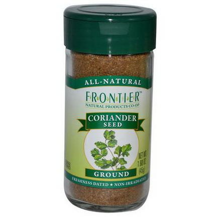 Frontier Natural Products, Coriander Seed, Ground 45g