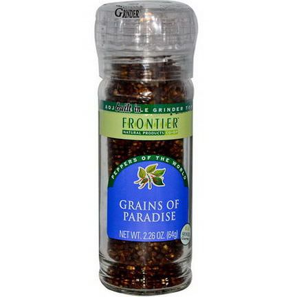 Frontier Natural Products, Grains of Paradise 64g