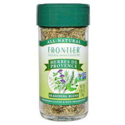 Frontier Natural Products, Herbes De Provence, Seasoning Blend 24g