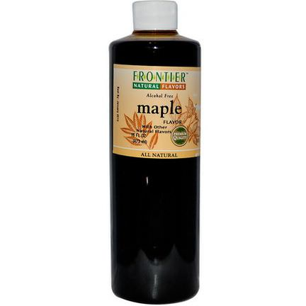 Frontier Natural Products, Maple Flavor, Alcohol Free 473ml