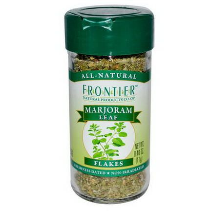 Frontier Natural Products, Marjoram Leaf, Flakes 11g