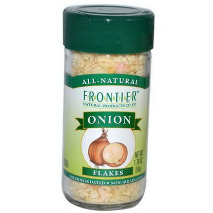Frontier Natural Products, Onion, Flakes 50g