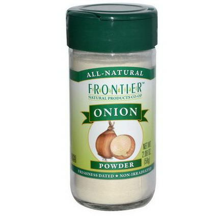 Frontier Natural Products, Onion, Powder 58g