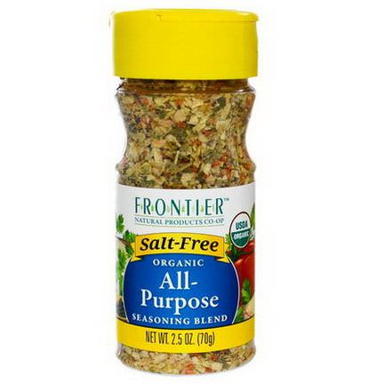 Frontier Natural Products, Organic All-Purpose Seasoning Blend 70g