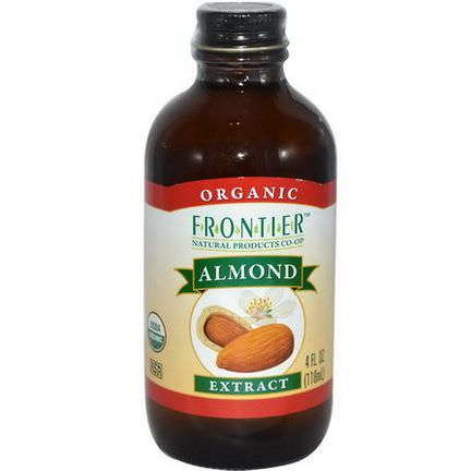 Frontier Natural Products, Organic Almond Extract 118ml