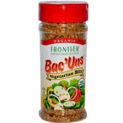 Frontier Natural Products, Organic Bac'Uns, Vegetarian Bits 70g