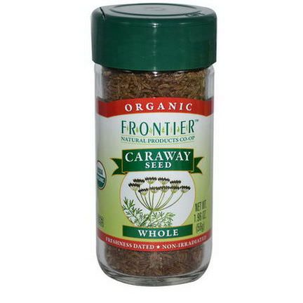 Frontier Natural Products, Organic Caraway Seed, Whole 56g