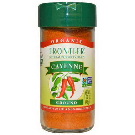 Frontier Natural Products, Organic, Cayenne, Ground 48g