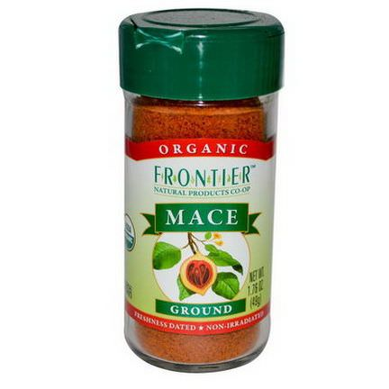 Frontier Natural Products, Organic Mace, Ground 49g