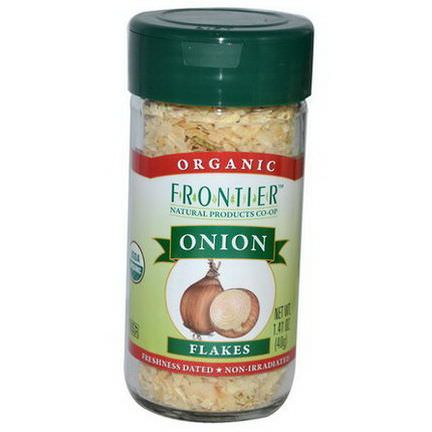Frontier Natural Products, Organic Onion, Flakes 40g