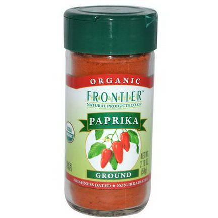 Frontier Natural Products, Organic Paprika, Ground 59g