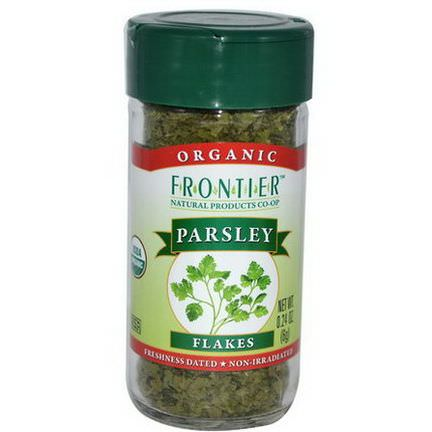 Frontier Natural Products, Organic Parsley Flakes 6g