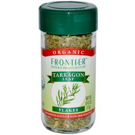 Frontier Natural Products, Organic, Tarragon Leaf Flakes 12g