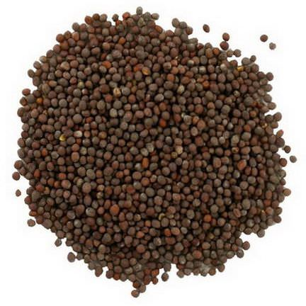 Frontier Natural Products, Organic Whole Brown Mustard Seed 453g