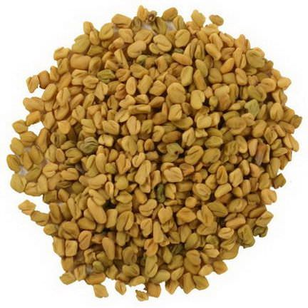 Frontier Natural Products, Organic Whole Fenugreek Seed 453g