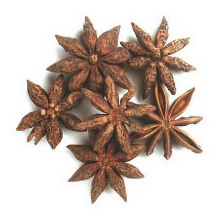 Frontier Natural Products, Organic Whole Star Anise Select 453g