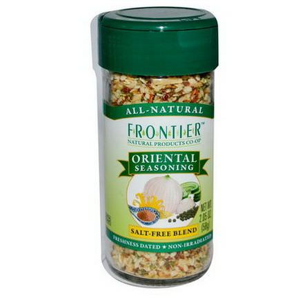 Frontier Natural Products, Oriental Seasoning, Salt-Free Blend 58g