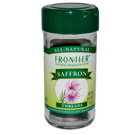 Frontier Natural Products, Saffron, Threads 0.5g
