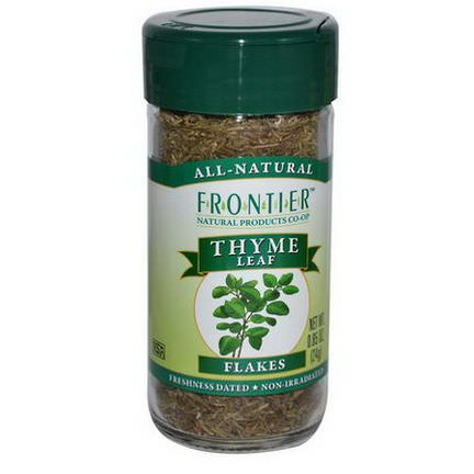 Frontier Natural Products, Thyme Leaf Flakes 24g