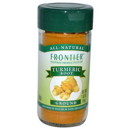 Frontier Natural Products, Turmeric Root, Ground 54g