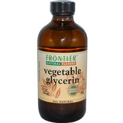 Frontier Natural Products, Vegetable Glycerin 237ml