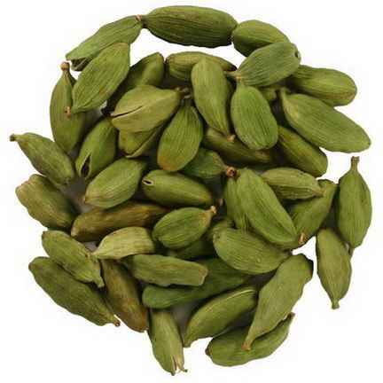 Frontier Natural Products, Whole Green Cardamom Pods 453g